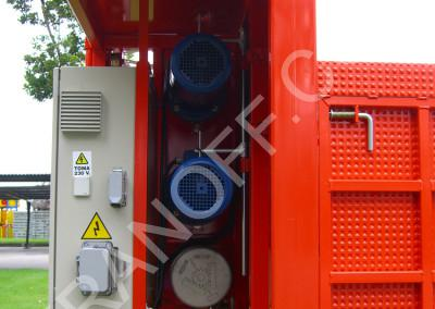 Грузовой мачтовый подъемник ENCOMAT IZA 1500 XL