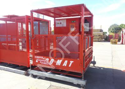Грузопассажирский мачтовый подъёмник IZA PETC 1500/2000